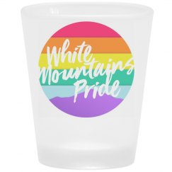 White Mountains Pride Shot Glass