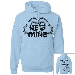 He's Mine - Cartoon Hands