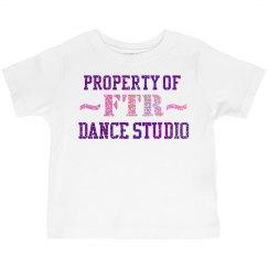 Toddler Glitter Property of FTR