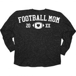 Proud Custom Football Mom Jersey