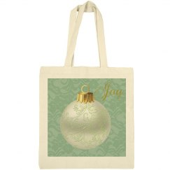 Green Ornament Floral Joy