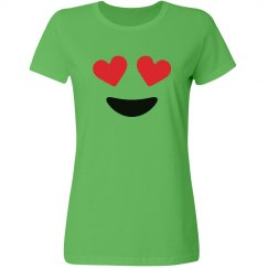 Love Eyes Emoji Costume