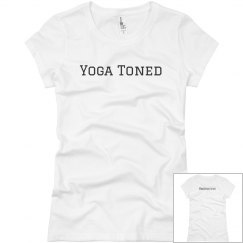 Yoga toned relax fit tee