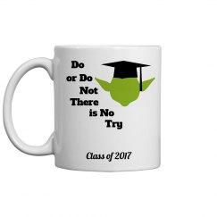 Yoda Graduation Mug