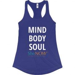 SheNOW MIND BODY SOUL Tank