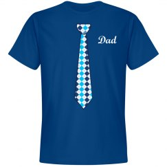 Dad Blue Neck Tie