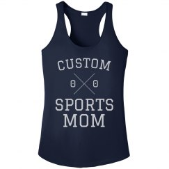 Customizable Sports Mom Racerback
