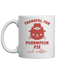 Coffee & Pumpkin Pie Mug