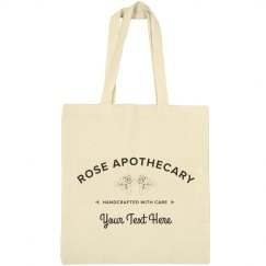 Custom Apothecary Tote Bag