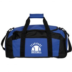 Custom Baseball Team Duffel Bag