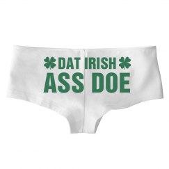 Dat Irish Ass St. Patrick's Panties