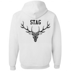 Stag hoodie - wear your horns proudly