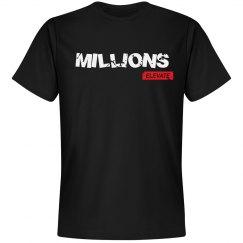 MILLIONS - BLACK TEE
