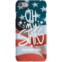 Custom Oh My Stars iPhone Case