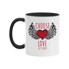 Choose Love Fancy Mug