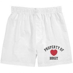 Property of Birgit