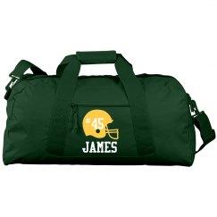James football bag