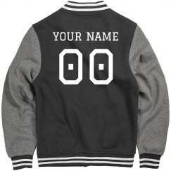 Custom Letterman Inline Jacket