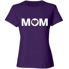 Purple Mom Tshirt