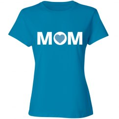 Blue Mom Tshirt