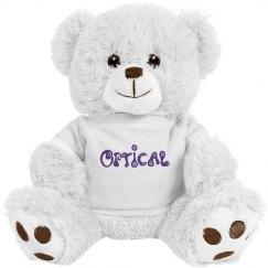 Optical Eyes Teddy Bear