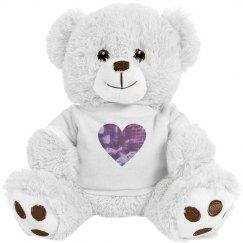 WE LOVE OPTICAL Teddy Bear
