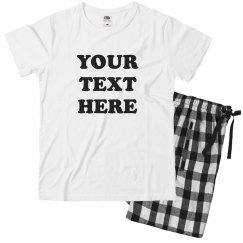 Customizable Youth Pajama Set!