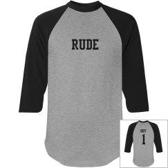 Rude boy Raglan T-Shirt