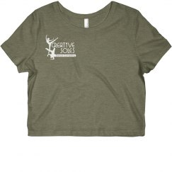 Ladies - CSDC Logo Cropped Tee