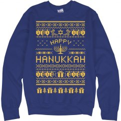 Happy Hanukkah Sweater!