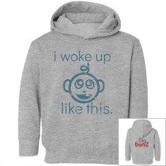Toddler boy hoodie woke