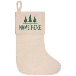 Custom Name With Trees
