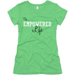 Soft T - The Empowered Life (white)