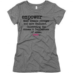 Empower definition T-shirt