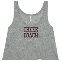 cheer coach team shirt