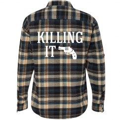 Killing It In Plaid