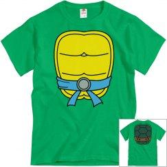 Blue Turtle Halloween Shirt