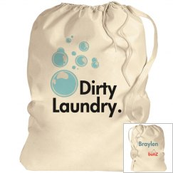 Personalized Boy's Laundry Bag