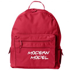 Modern Model Zippered Backpack