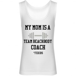 Mom is a coach