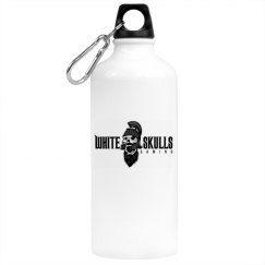White Skulls Gaming Water Bottle