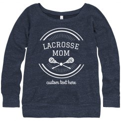 Customizable Certified Lacrosse Mom