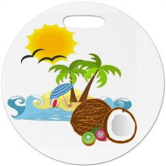 Tropical Beach Luggage