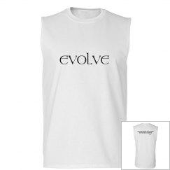 evolve grey sleeveless