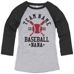 Baseball Nana For Life