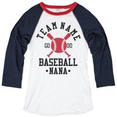 Baseball Nana For Life