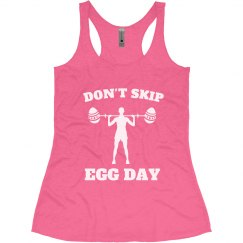 Funny Easter Workout Shirt Leg Day