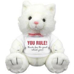 You Rule Teacher!
