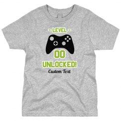 Custom Gamer Birthday Tee