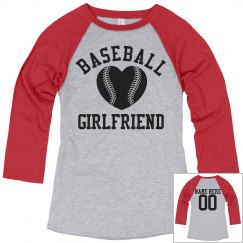 Your Custom Baseball Girlfriend Jersey